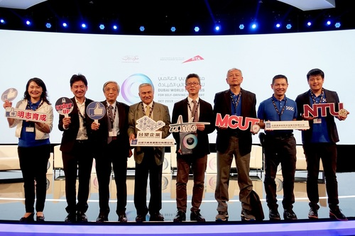 Taiwan iAuto team won the second prize in the start-ups category in 2019 Dubai World Challenge for Self-Driving Transport(Open new window/jpg file)